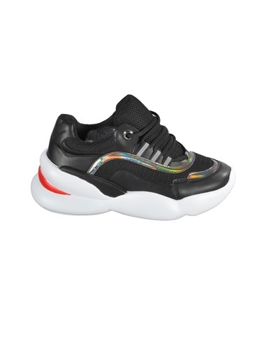 Walkway B-800 Siyah Unisex Spor Ayakkabı Siyah